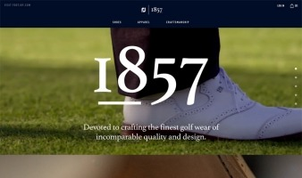 eCommerce website: FJ1857