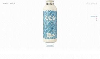 eCommerce website: Fronks