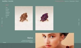 eCommerce website: Madina Visconti