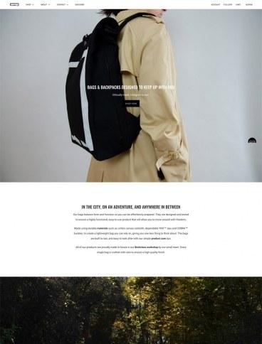 eCommerce website: PAKTA Studio