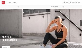eCommerce website: Physiq Apparel