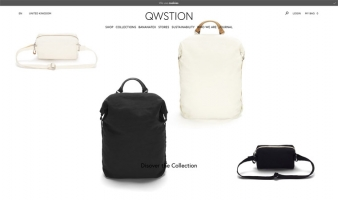 eCommerce website: QWSTION