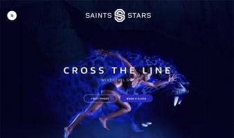 eCommerce website: Saints & Stars