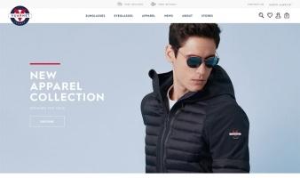 eCommerce website: Vuarnet