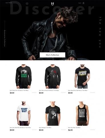eCommerce website: Habitout