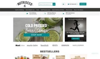eCommerce website: Nutriseed