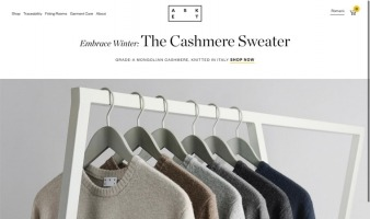 eCommerce website: ASKET