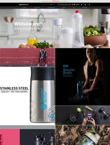 eCommerce website: BlenderBottle