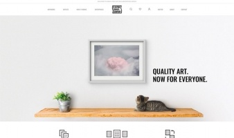 eCommerce website: Floating Canvas