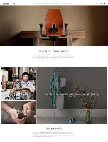 eCommerce website: LÖFFLER GmbH