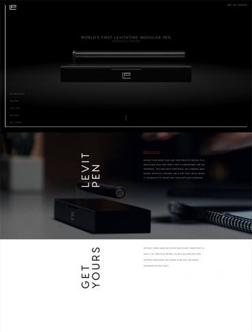 eCommerce website: Levit Pen