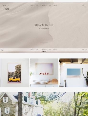 eCommerce website: Max Wanger