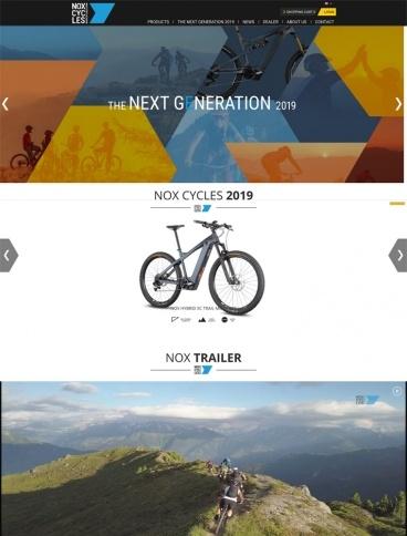 eCommerce website: NOX Cycles