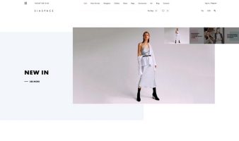 eCommerce website: SiaSpace