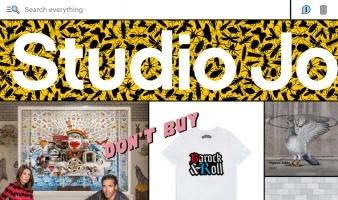 eCommerce website: Studio Job