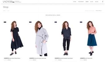 eCommerce website: UNDRESS.world