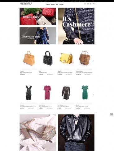 eCommerce website: Vite EnVogue