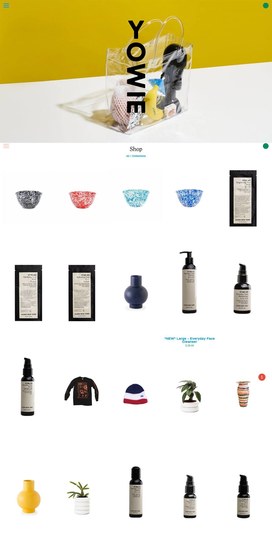 eCommerce website: YOWIE