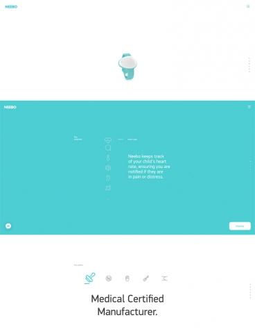 eCommerce website: Neebo Monitor