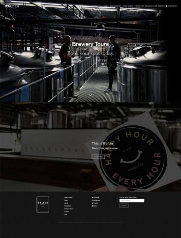 eCommerce website: Balter