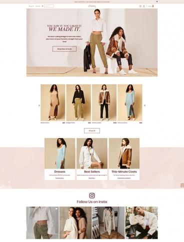 eCommerce website: Choosy