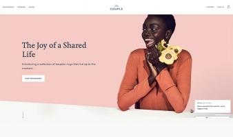 eCommerce website: Couple Diamonds