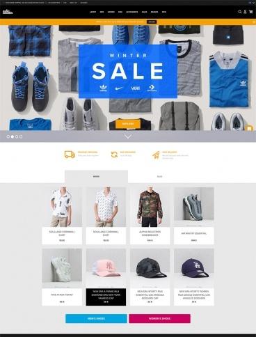 eCommerce website: Footshop