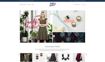 eCommerce website: Mata Traders