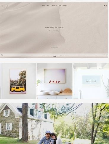 eCommerce website: Max Wanger Print Shop