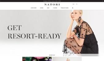 eCommerce website: Natori