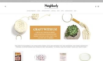 eCommerce website: Neighborly