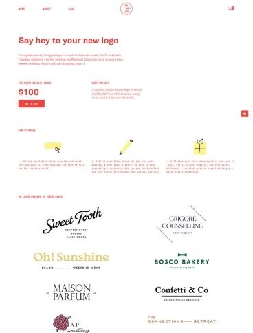 eCommerce website: Oh Hey Logo