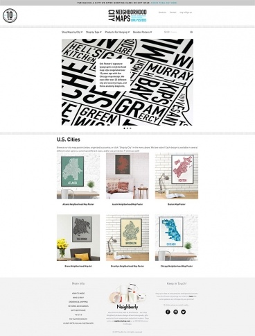 eCommerce website: Ork Posters
