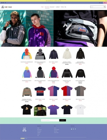 eCommerce website: Teddy Fresh