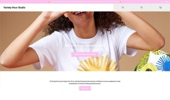 eCommerce website: Variety Hour