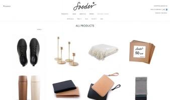 eCommerce website: Soeder