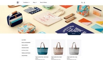 eCommerce website: Boon Supply