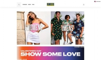 eCommerce website: City Beach