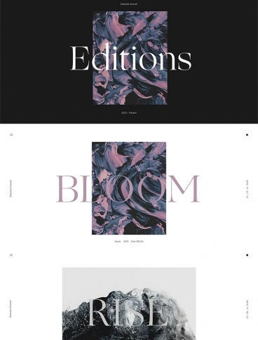 eCommerce website: Editions