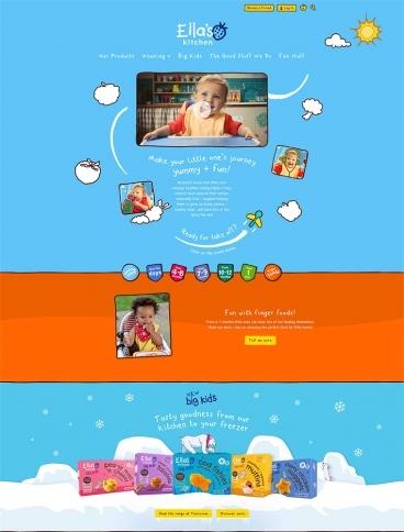 eCommerce website: Ella's Kitchen