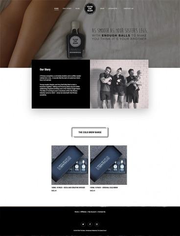 eCommerce website: Flick The Bean