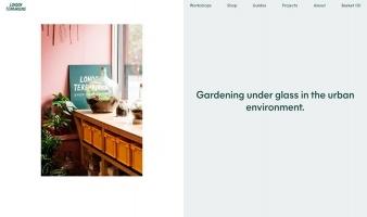 eCommerce website: London Terrariums