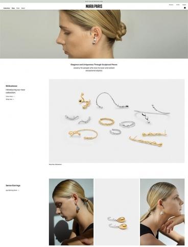 eCommerce website: Mara Paris