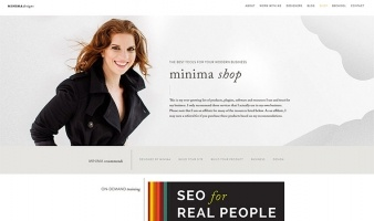 eCommerce website: Minima Shop