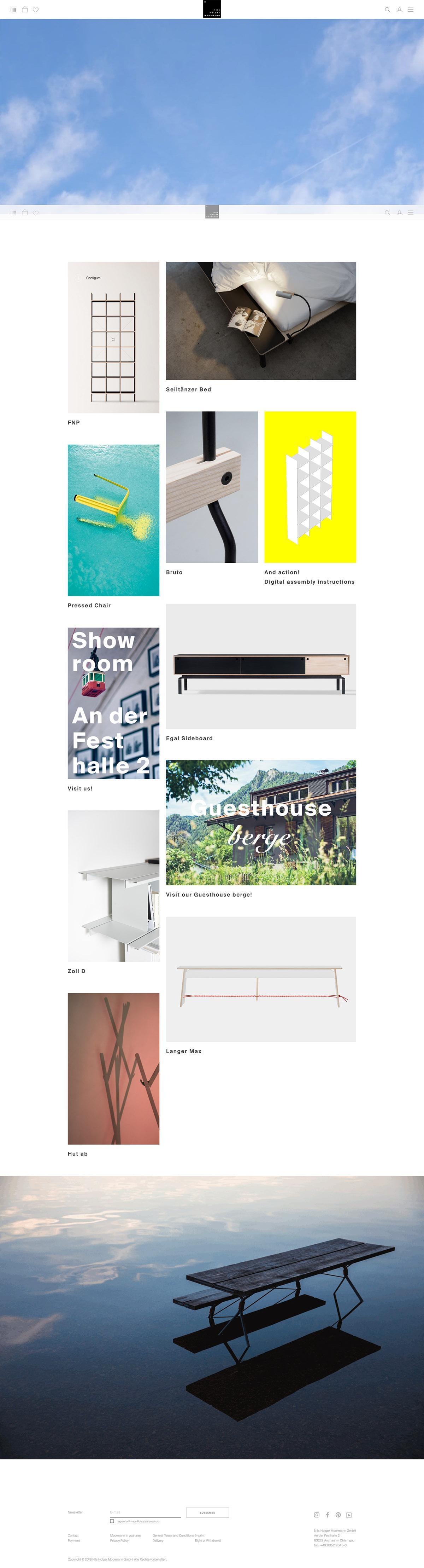 eCommerce website: Nils Holger MOORMANN
