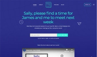 eCommerce website: Meet Sally