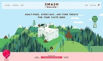 eCommerce website: Smashmallow