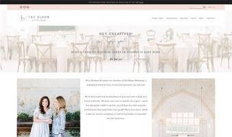 eCommerce website: The Bloom Workshop