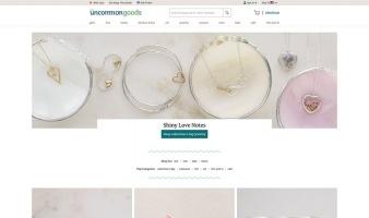 eCommerce website: UncommonGoods