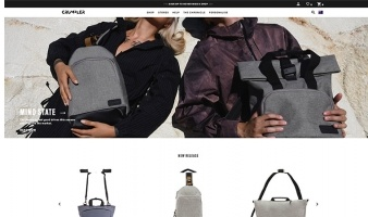 eCommerce website: Crumpler